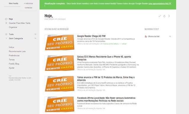 5 excelentes leitores de RSS