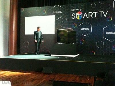 Smart TV da Samsung melhora sensor de movimento
