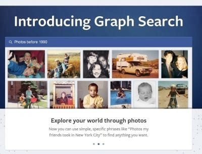Facebook: Usuários começam a receber Graph Search
