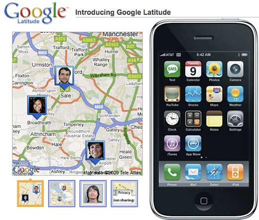 Google Latitude será descontinuado no dia 09 de agosto
