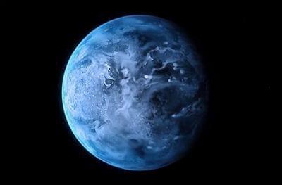 Telescópio Hubble observa a cor do exoplaneta HD 189733b
