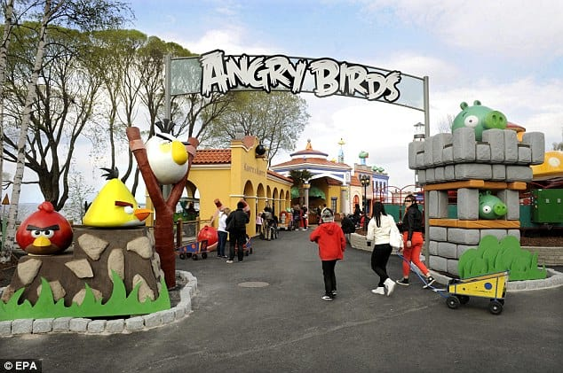 Parque temático Angry Birds está no Brasil