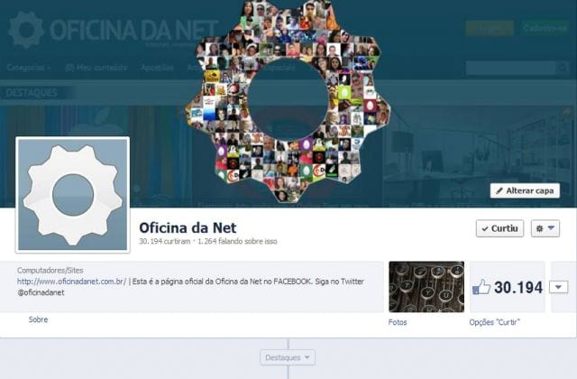Fanpage do Oficina da Net
