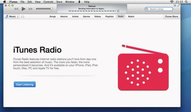 ITUNES INTERNET RADIO
