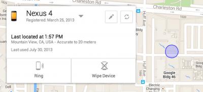 Android Device Manager te dá a localização do smartphone perdido