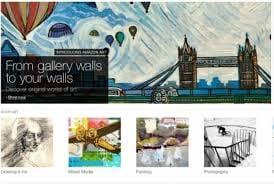 Amazon vende obras de arte em seu site