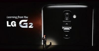 LG apresenta seu novo smartphone com tela de 5,2 polegadas; o LG G2
