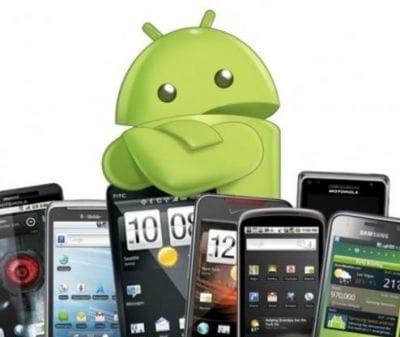 Android amplia seu domínio entre os demais concorrentes na venda de smartphones