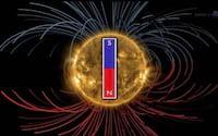 Processo de inversão de polaridade do campo magnético do Sol repercutirá em todo o Sistema Solar