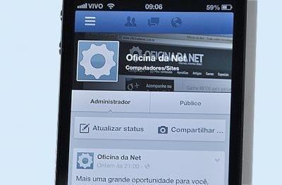 Facebook mobile recebe atualizações como Open Table