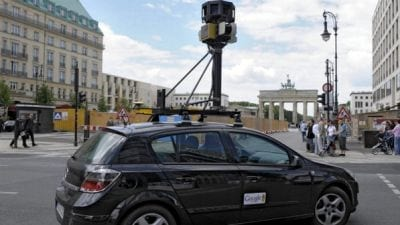 Por suspeita de espionagem, carro do Google é proibido de circular na Tailândia