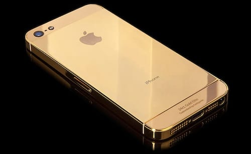 iPhone 5S virá também na cor dourada