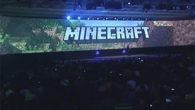 Minecraft estará no PlayStation 4 da Sony