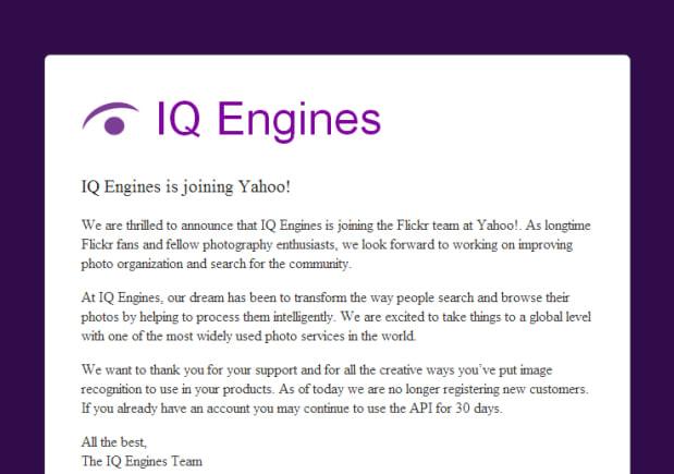 Yahoo! compra empresa de startup