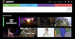 Giphy dribla Facebook e permite publicação de GIFs