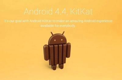Google anuncia o novo Android 4.4 KitKat