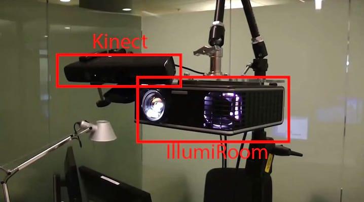 Como funciona o IllumiRoom: o Kinect do futuro