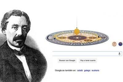 Google presta homenagem ao cientistas francês Jean Bernard Léon Foucault