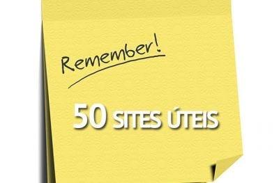 50 sites �teis que voc� precisa conhecer