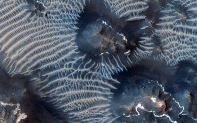 Nasa encontra dunas formadas de ferro em Marte
