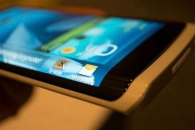 Samsung prepara smartphone com tela em curva
