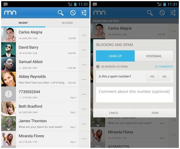 Como bloquear chamadas em um smartphone com Android