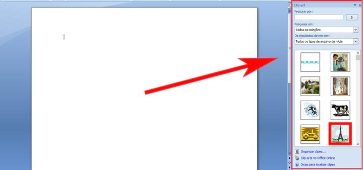 Como inserir legenda em objetos no Word