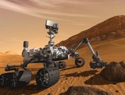 Curiosity encontra água na 1ª amostra recolhida em Marte
