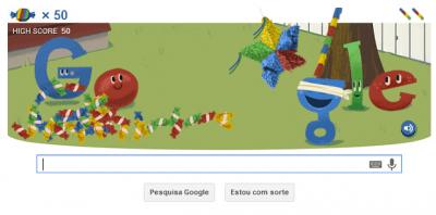 Google comemora aniversário com doodle interativo