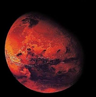 Supervulcões podem ter favorecido existência de vida em Marte