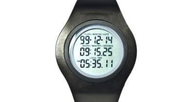Relógio calcula o tempo de vida do usuário