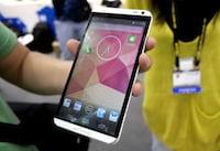 HTC apresenta One Max; o phablet com tela de 5,9 polegadas e leitor de impressões digitais