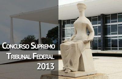 Supremo Tribunal Federal abre concurso com vagas para TI
