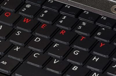 A história do teclado QWERTY