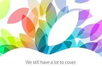 iPad 5 deve ser o grande destaque do evento de hoje; o que mais podemos esperar