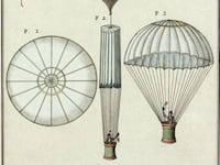 André-Jacques Garnerin, primeiro a saltar de paraquedas, é o grande homenageado do Doodle