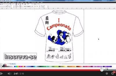 Criando uma camiseta no Corel Draw - Speed-Art