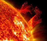 Tempestade Solar captada pela NASA é uma das maiores nos últimos anos