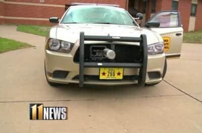 Pol�cia americana testa bala com GPS em persegui��es