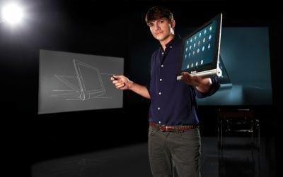 Lenovo contrata Ashton Kutcher como consultor