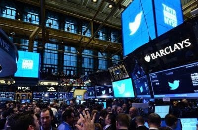 Twitter estreia muito bem na bolsa de valores