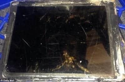 iPad Air explode em loja da Vodafone, na Austr�lia