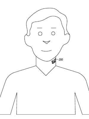Motorola registra patente de microfone colado no pescoço
