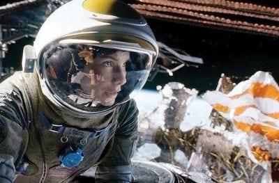 Filme Gravidade é um dos melhores sobre o espaço
