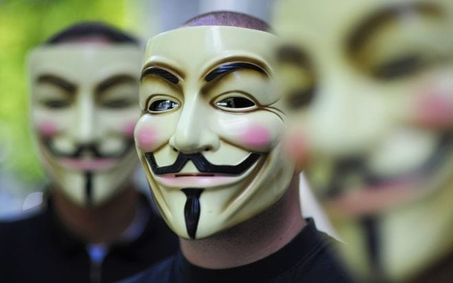 Anonymous invadiu computadores do Governo Norte Americano, diz FBI