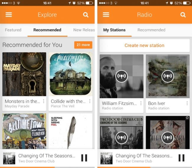 Faça o download de Google Music para iOS