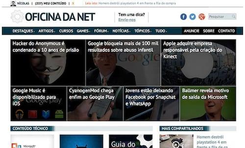 Novo layout, novas ferramentas, mesma credibilidade