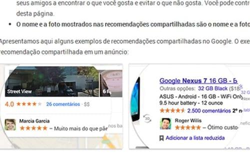 Aprenda a desativar o uso de sua imagem em propagandas do Google