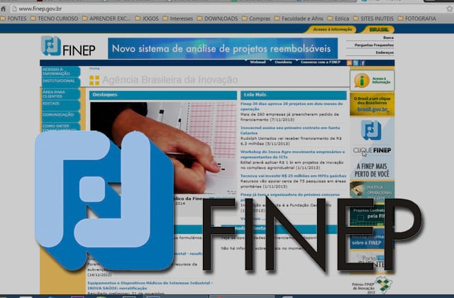 FINEP abre concurso público para área de TI