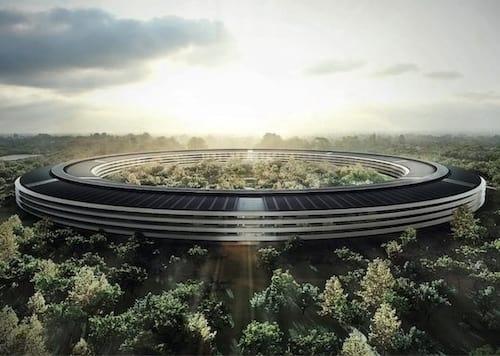 Sede em forma de espaçonave da Apple é aprovada